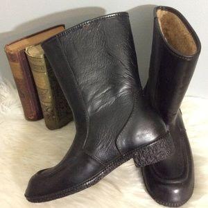 Keds Eskiloos Black Waterproof Sherpa Boots 7